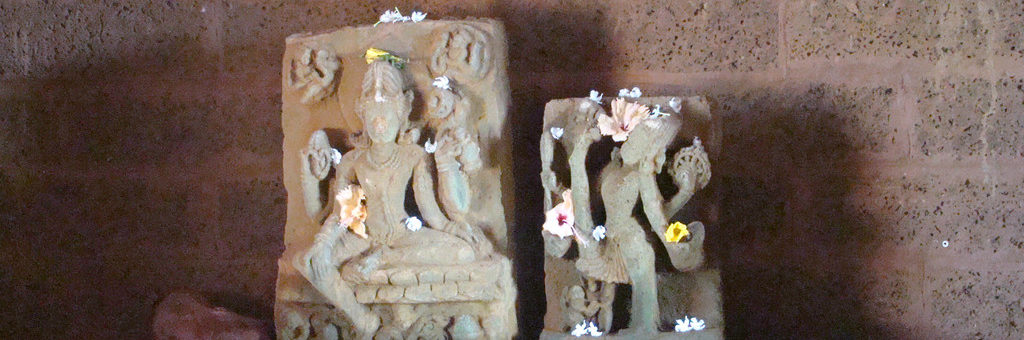 Idols-recovered-from-ruins-of-Kurum-Monastary