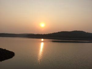 Sunset-at-Deras-Dam