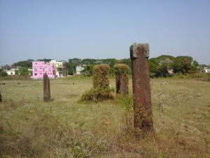 Stone pillars of Sisupalgarh