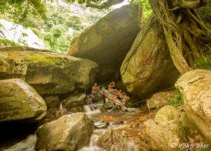 XBHP-Team-at-the-Gadachandi-Water-fall
