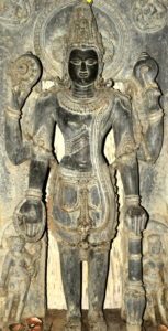 Lord-Vishnu-idol-at-the-museum-of-Sobhaneswara-Temple-Niali