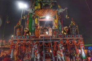 Front-view-of-the-Chariot-of-Maa-Biraja-during-Dussehra-at-Jajpur